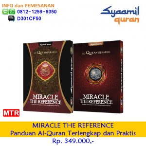 {Mushaf Quran MIRACLE|MIRACLE|MIRACLE Syaamil| Syamil Quran MIRACLE| MIRACLE Syaamil Quran|Mushaf Quran MIRACLE THE REFERENCE|MIRACLE THE REFERENCE|MIRACLE THE REFERENCE Syaamil| MIRACLE THE REFERENCE Sygma| MIRACLE THE REFERENCE Syaamil Quran},